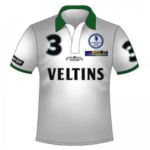 Polo Shirt Team Veltins - Full Print mit Reißverschluss
