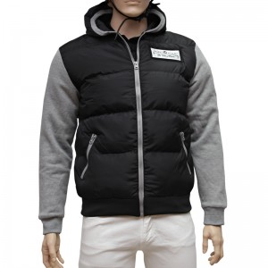 Polo Sweat Nylon Kapuzenjacke