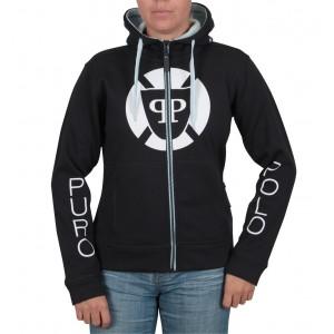 Puro-Polo Kapuzen-Sweater für Damen vorne