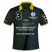Polo Shirt Team Wolte & Partner - Full Print mit Reißverschluss