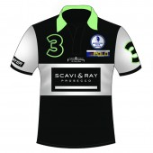 Polo Shirt Team Scarvi & Ray - Full Print mit Reißverschluss