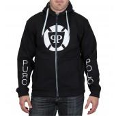 Puro-Polo Kapuzen-Sweater für Herren vorne